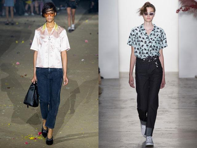Модные джинсы классического образца