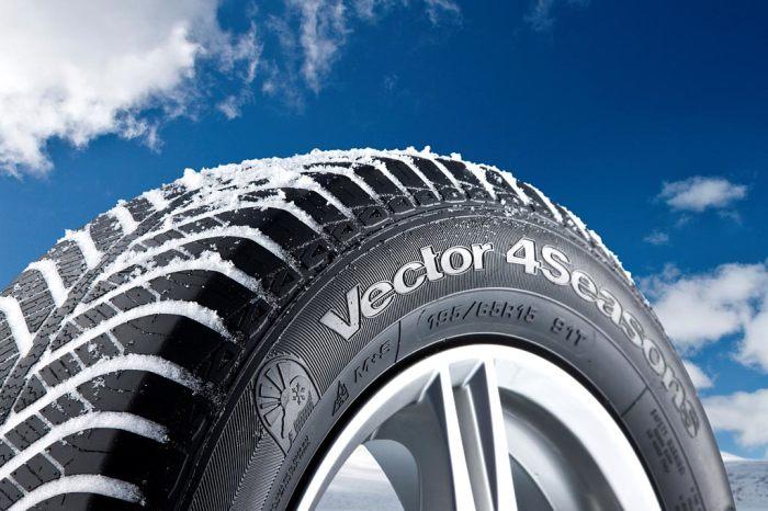 Всесезонные шины должны быть пригодны для использования круглый год.