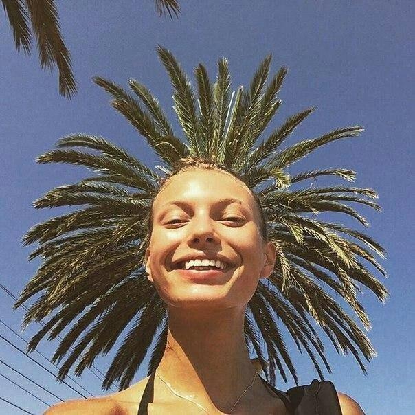 Фото с пальмой