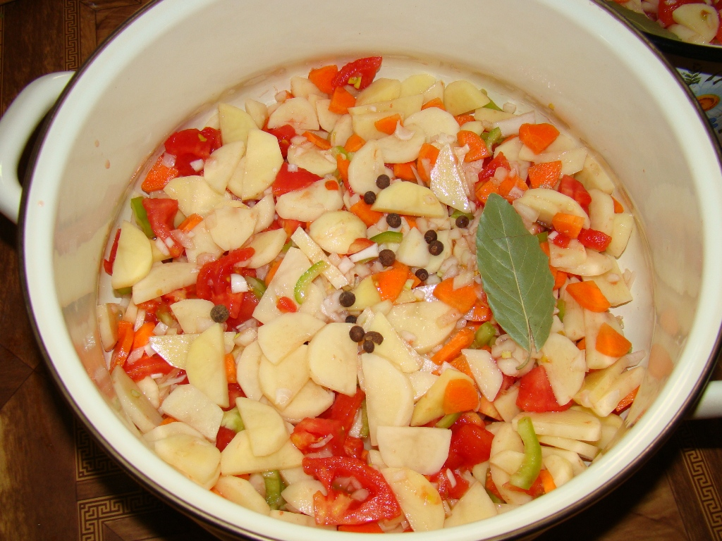 Супо-соусо-рагу. Вкусно и достаточно просто.