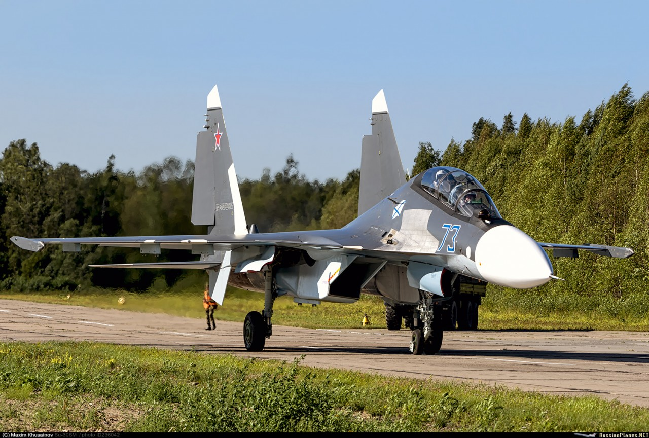 Министерство обороны России приобретет еще 36 истребителей Су-30СМ