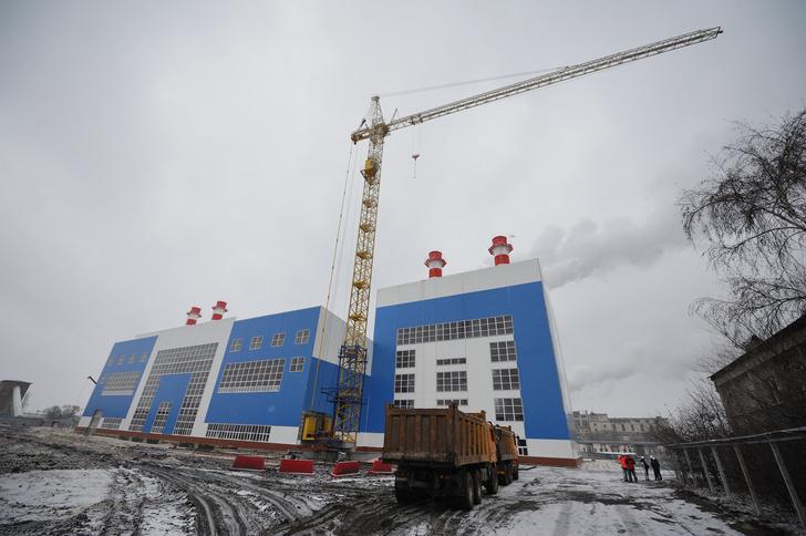 В Воронежской области возводится новый энергоблок Воронежской ТЭЦ-1