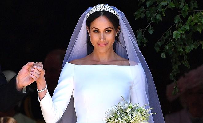 Меган Маркл открыла тайну своей свадебной фаты