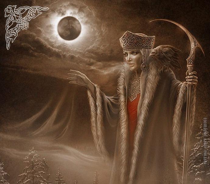 Богиня Морена — славянская Богиня Зимы и Смерти