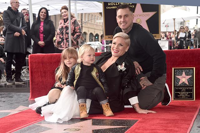 Пинк получила звезду на Аллее славы в Голливуде
