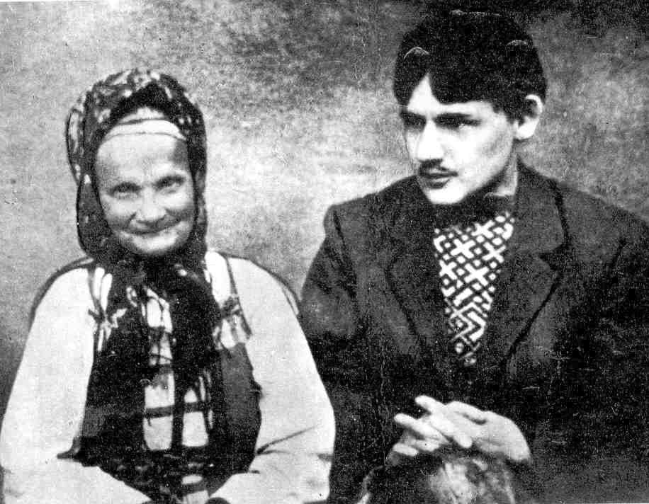 Знаменитая русская сказительница Марья Дмитриевна Кривополенова