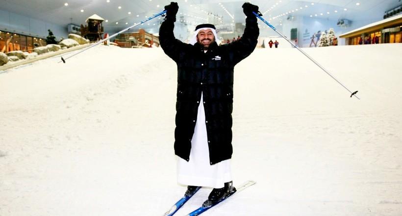 Секреты Ски Дубай: как арабы построили горнолыжный комплекс в пустыне