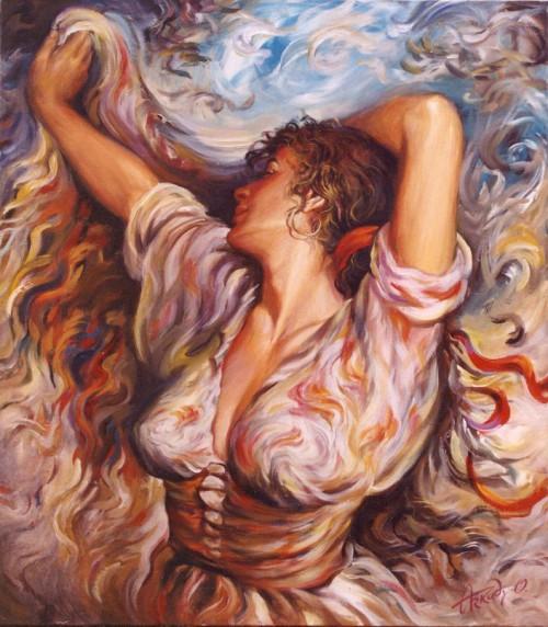 женский образ Аркадий Острицкий - 08