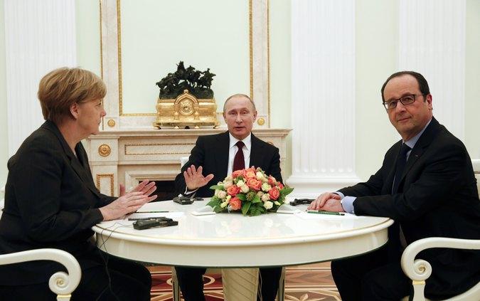 Песков: переговоры лидеров России, ФРГ и Франции были содержательными