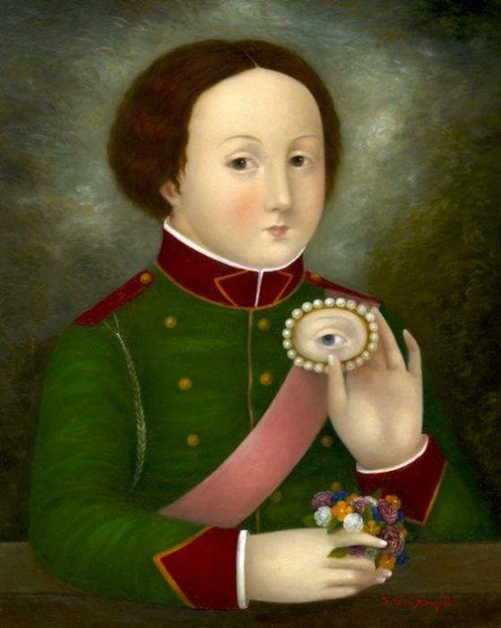 Портрет любимой девушки. | Фото: pinterest.com.