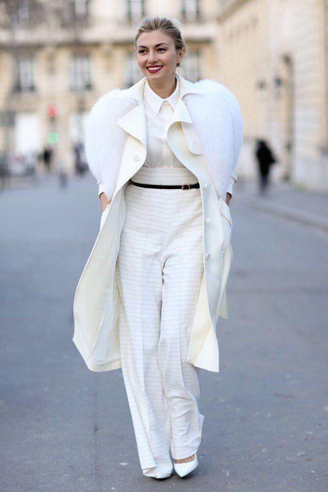 Как носить белое, когда холодно: 9 впечатляющих образов, фото № 6