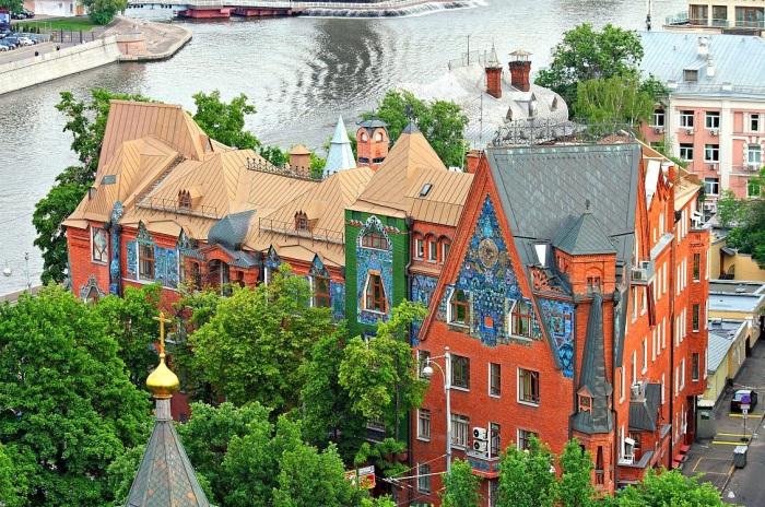 История дома-сказки, расположенного в самом центре Москвы