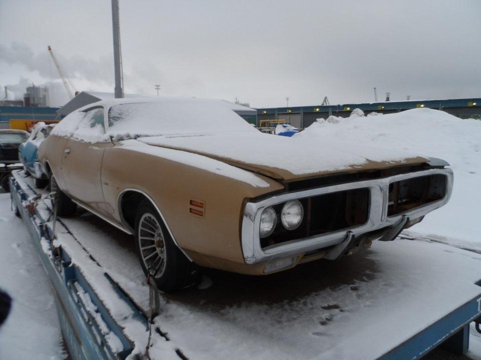 Восстановление Dodge Charger…