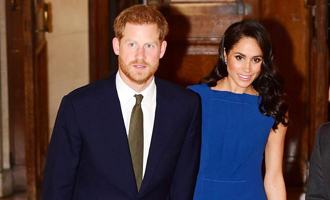 """Принц Гарри и Меган Маркл  на благотворительном гала-вечере """"100 дней мира"""""""