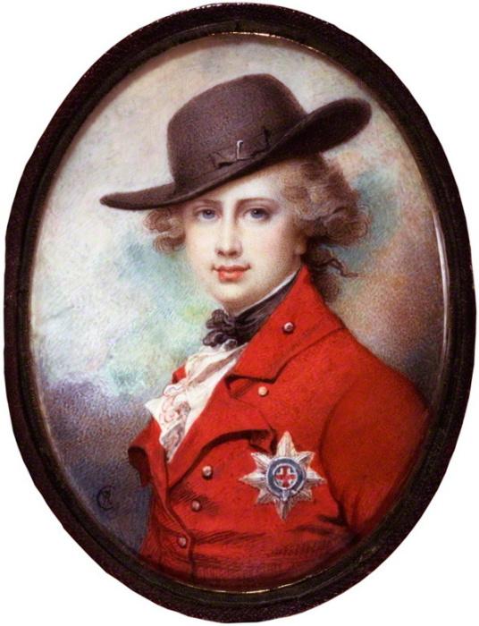 Принц Уэльский и будущий король Великобритании Георг IV. Ричард Косвей, 1780-1782 гг. | Фото: en.wikipedia.org.
