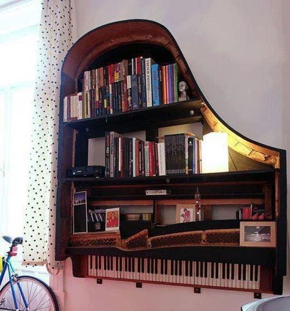 Для обладателей фрагмента рояля Фабрика идей, переделки, пианино и рояли, своими руками