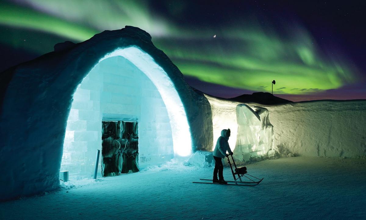 В гостях у Снежной Королевы: ледяной отель в Швеции
