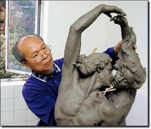 Чувственные скульптуры Гейлорда Хо