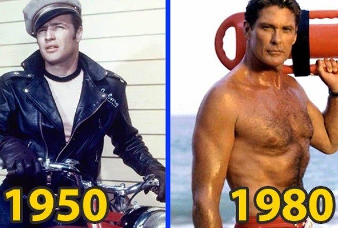 Как менялись эталоны мужской красоты за последние 100 лет