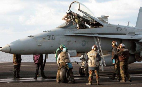 Летчики ВВС США уходят на «г…