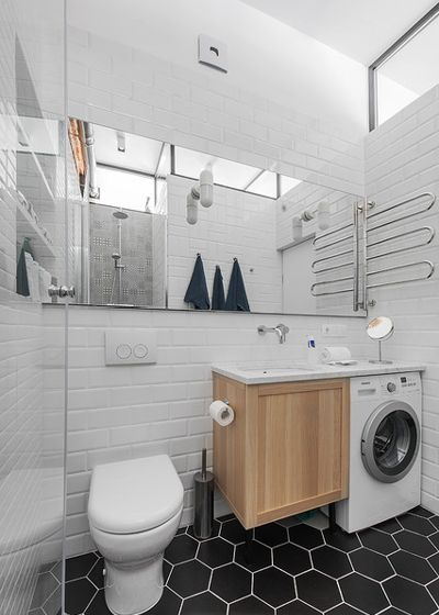 Скандинавский Ванная комната by m2project