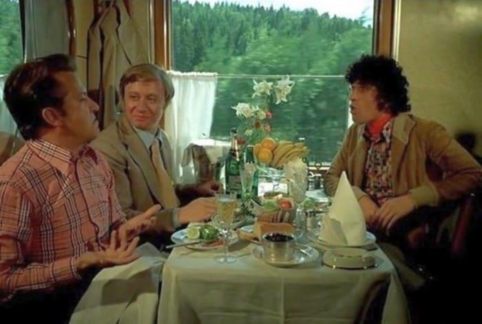 Актеры комедии «Невероятные приключения итальянцев в России» 45 лет спустя