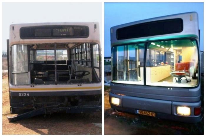 Списанный муниципальный автобус превратили в стильное жилье.   Фото: imagenesvariadasde.blogspot.com.