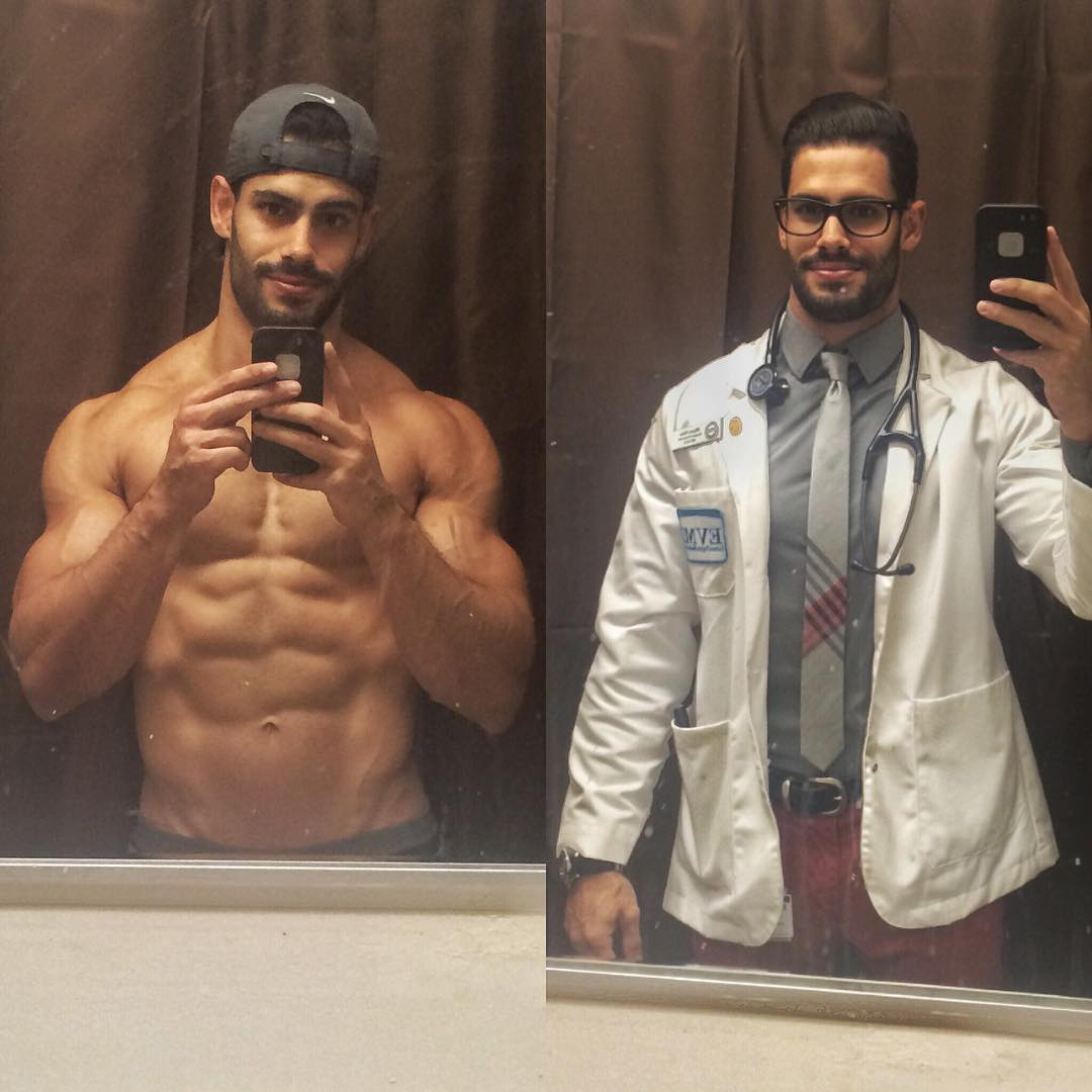 Фото очень горячих докторов, к которым записываются даже здоровые женщины