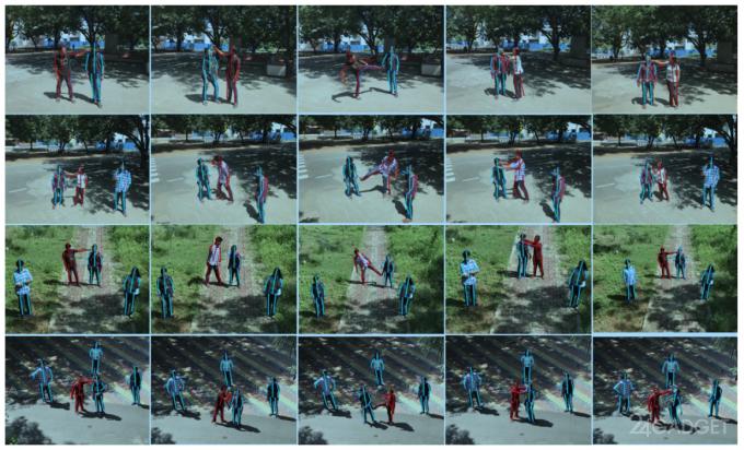 Дрон с ИИ и камерой обнаружит драку в толке (3 фото + видео)