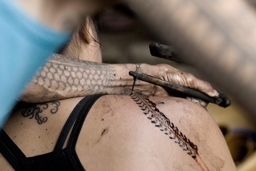 Искусство татуировки народов мира: техника остается без изменений тысячелетия