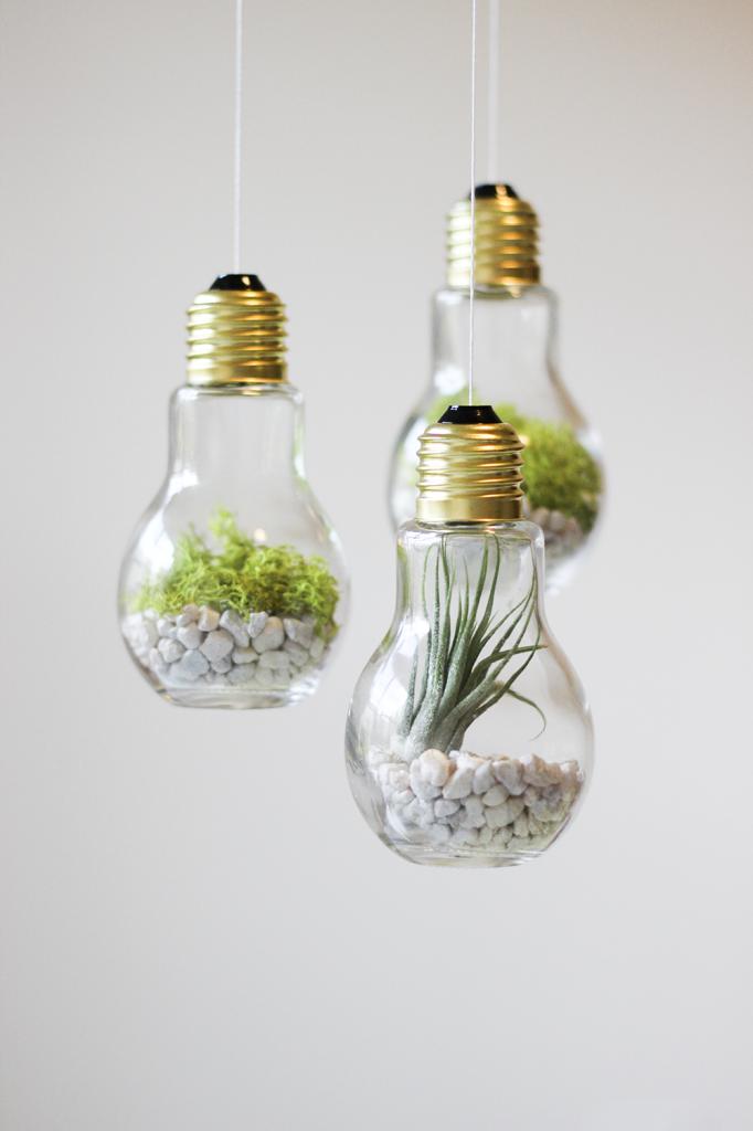 5. Лампочки пригодятся для декорирования дома, здесь все зависит от вашей фантазии декор, интересно, красиво, своими руками, старая лампочка, фото