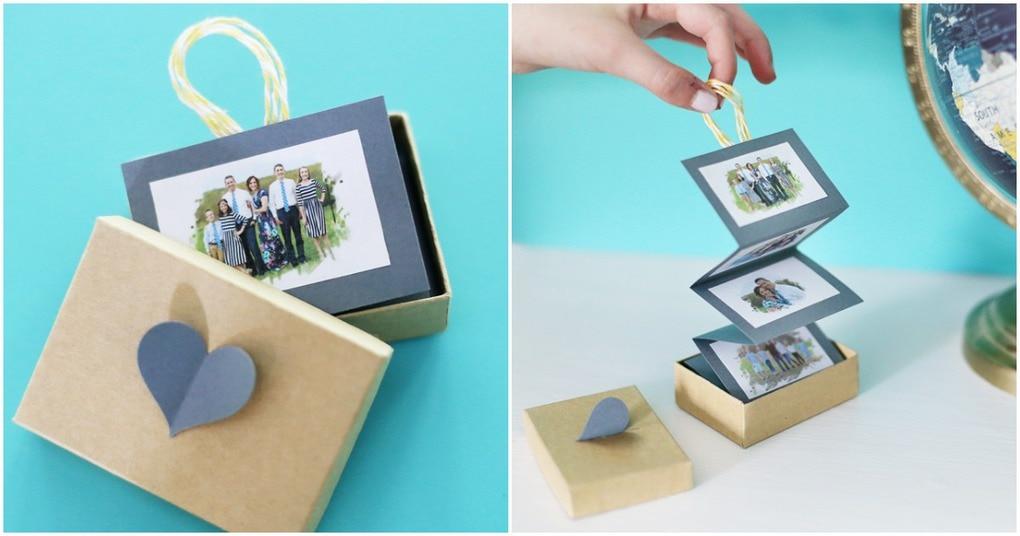 Фото-коробочка — подарок любимому человеку своими руками