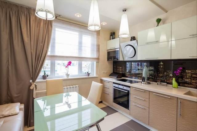 современные дизайны кухни в квартире