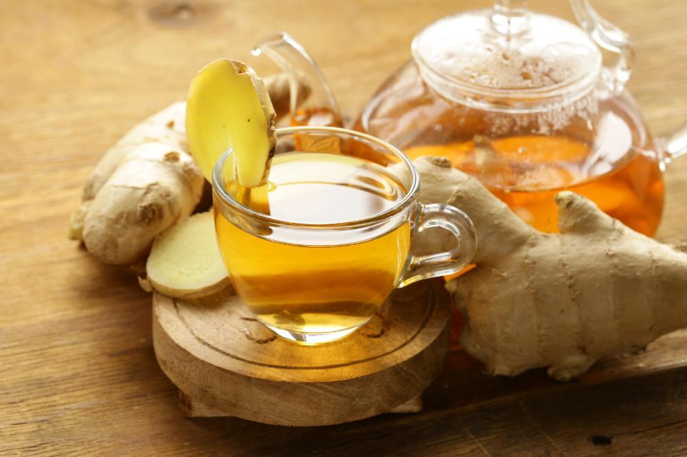 Ароматный имбирный чай-вкусный осенний напиток