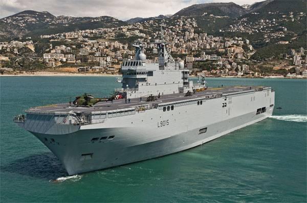 Что произошло на борту французского вертолётоносца Dixmude в водах Ла-Манша?