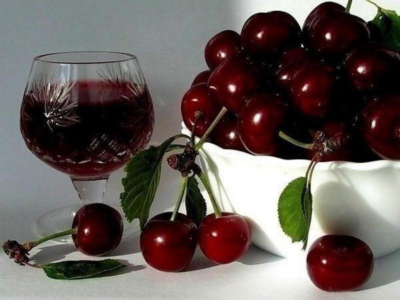 Домашнее вино из черешни.