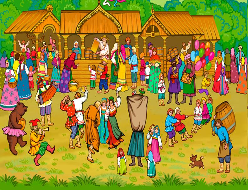 Картинки до веселого ярмарку