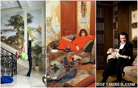 Роскошные дома русских знаменитостей