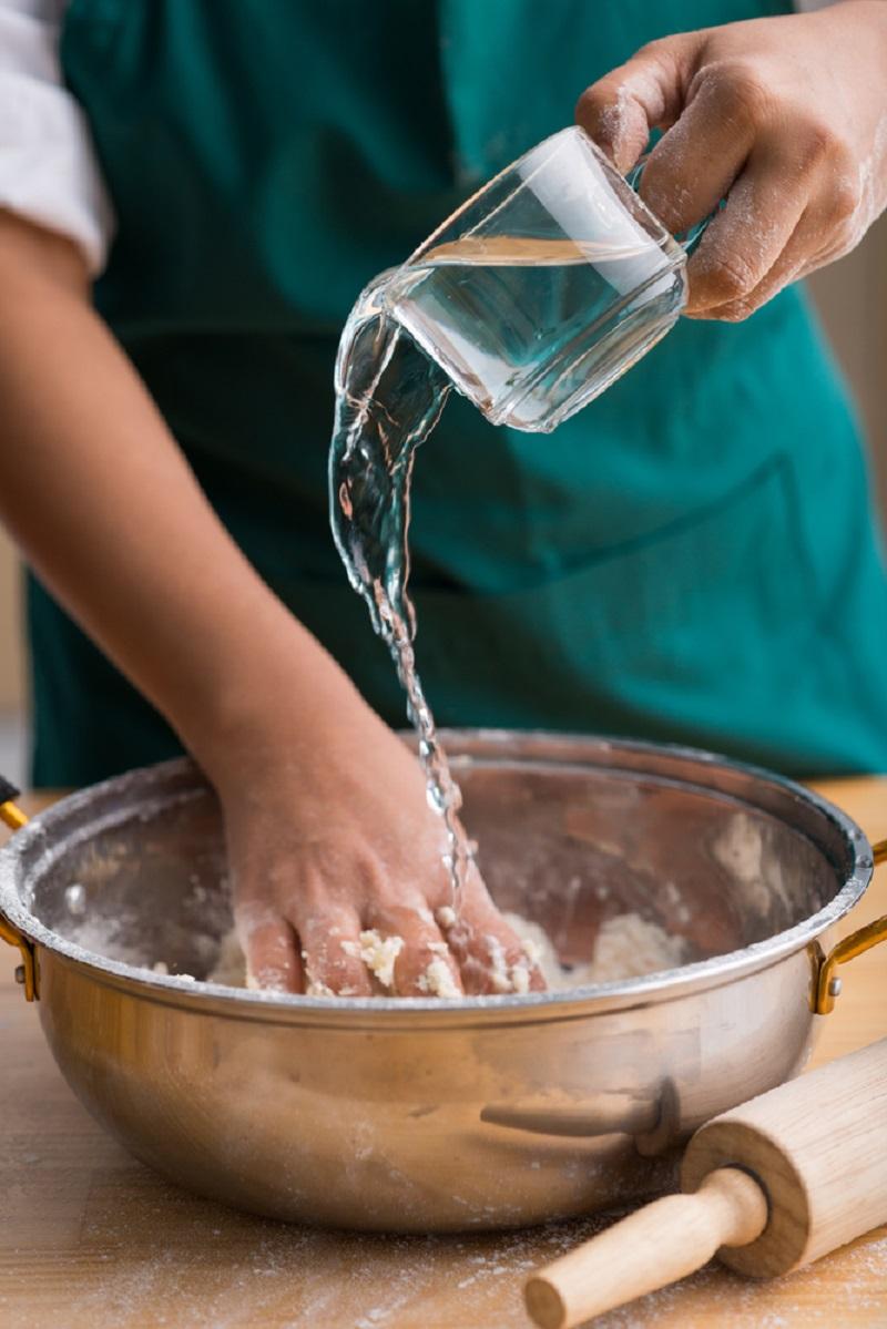 Как приготовить бездрожжевые лепешки на сковороде