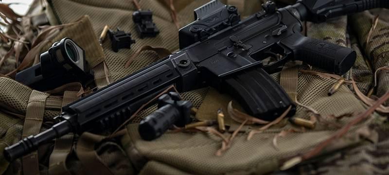 Израильская компания IWI представила новую штурмовую винтовку Arad оружие