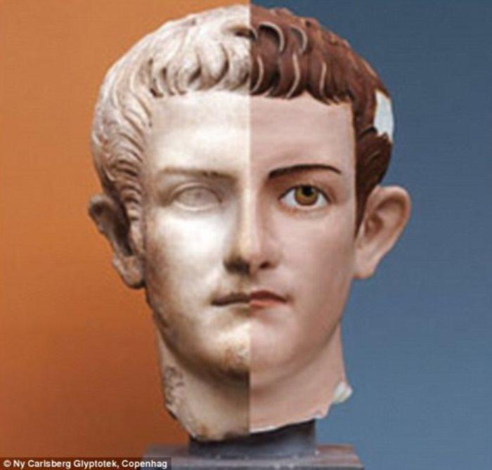 Император Калигула. Попытка реконструкции внешнего облика | Фото: livemaster.ru