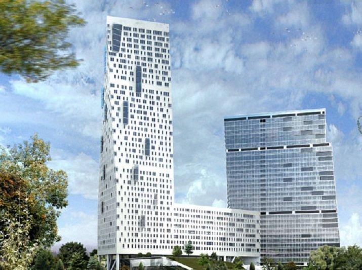 «Дом на Мосфильмовской», Москва, Россия красота, небоскребы, самый-самый, строительство, удивительное, фантастика