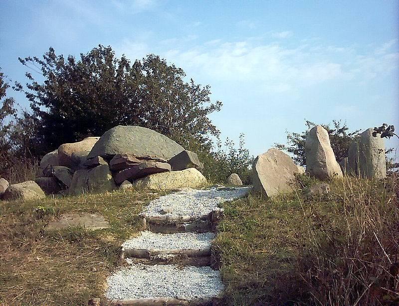 Закопанные славянские ладьи с острова Рюген