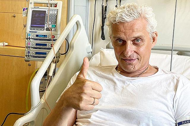 Олег Тиньков перенес пересадку костного мозга