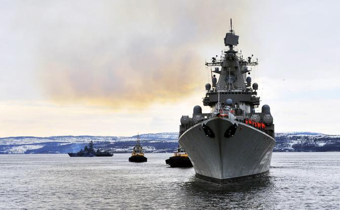 Сирия: Флот и авиация России прикроют Асада манёвром