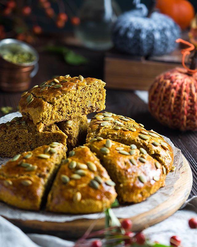 Как приготовить ароматную тыквенную коврижку с грецкими орехами