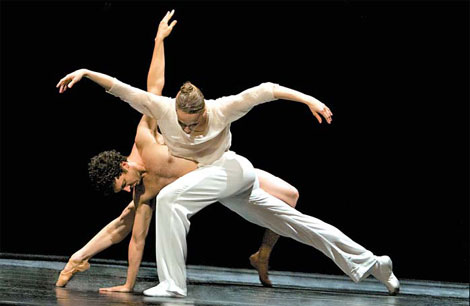 """Основные виды современных танцев. Танец """"Контактная импровизация"""""""