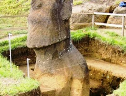 Странное — что еще скрыто под головами острова Пасха?