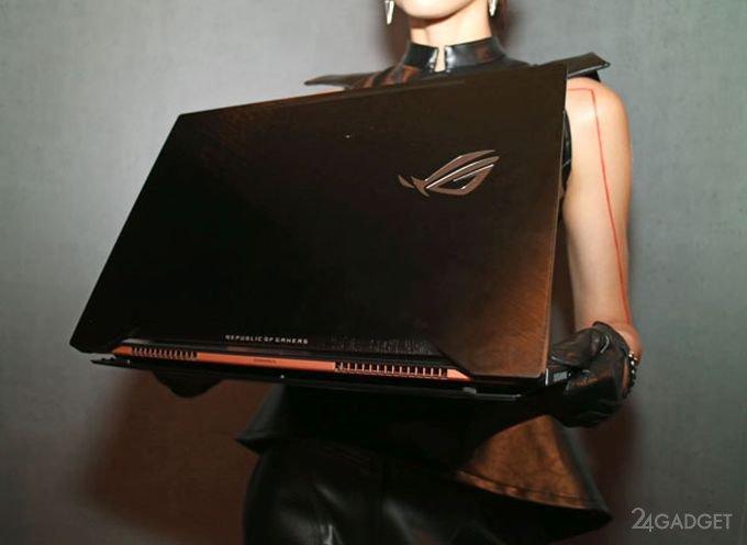 Asus и NVIDIA порадуют игроманов тонким геймерским ноутбуком