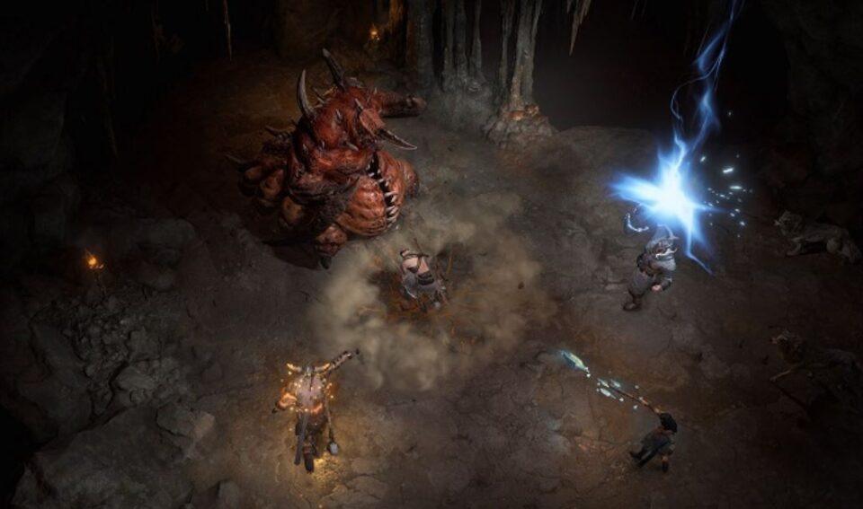 Разработчики Diablo IV показали сражение с мировым боссом